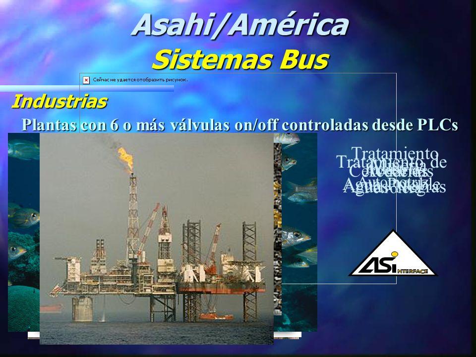 Asahi/América Sistemas Bus Industrias