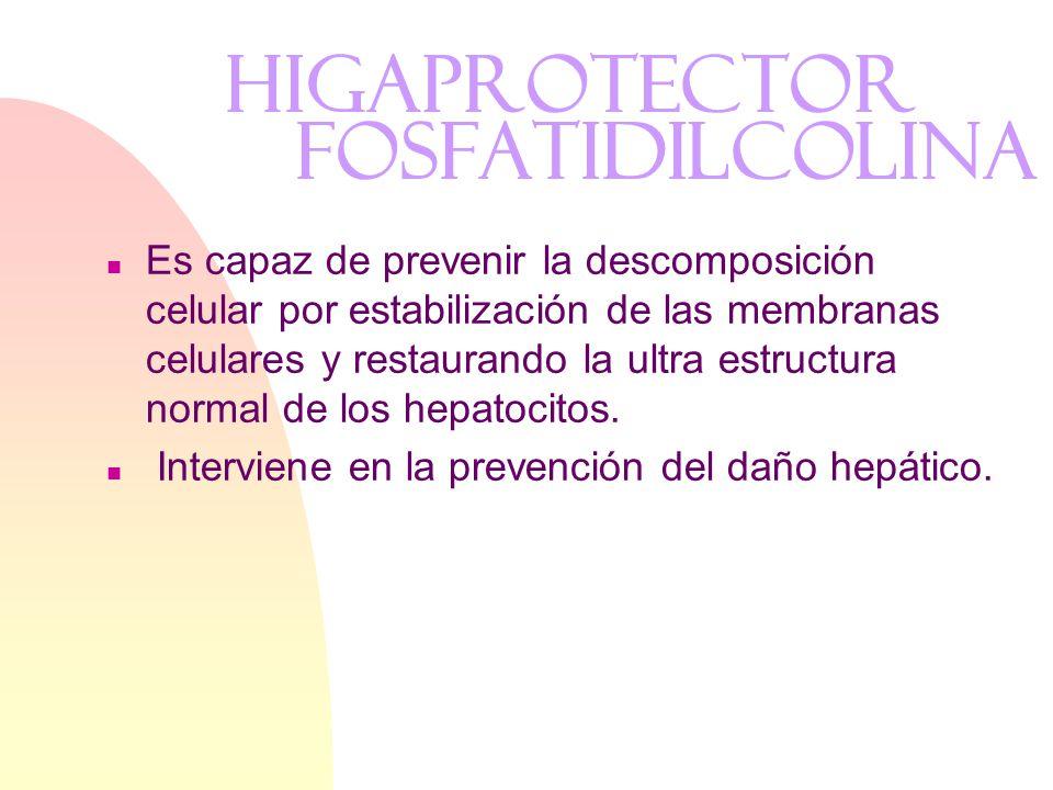 HIGAPROTECTOR Fosfatidilcolina