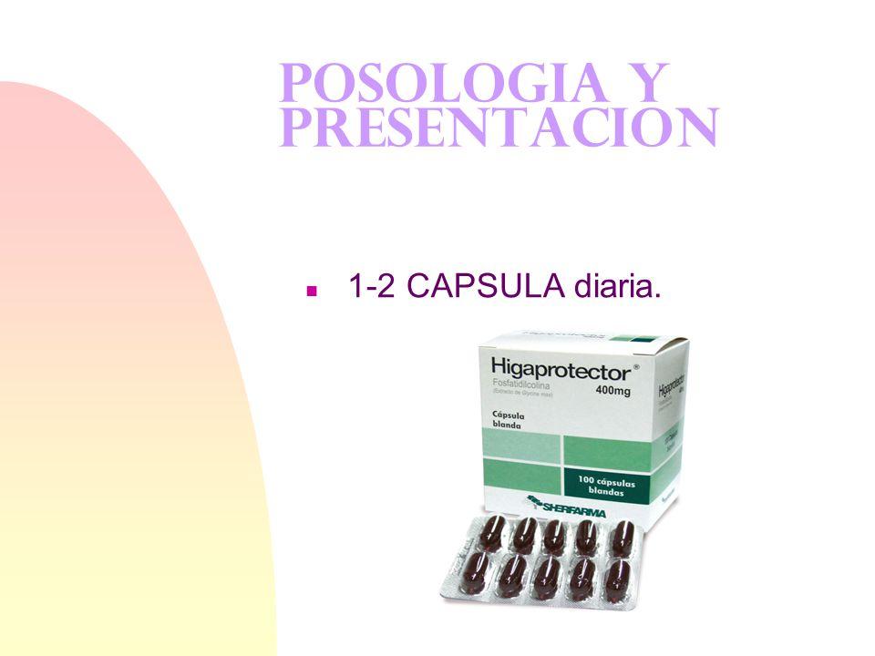 POSOLOGIA Y PRESENTACION