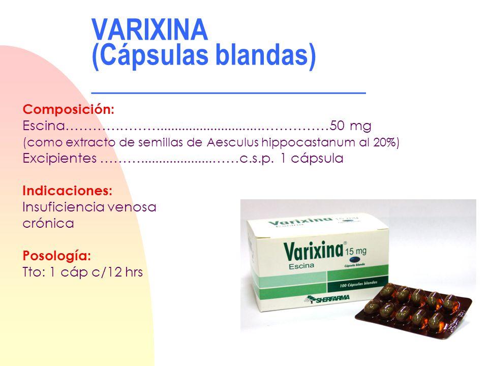 VARIXINA (Cápsulas blandas) ____________________
