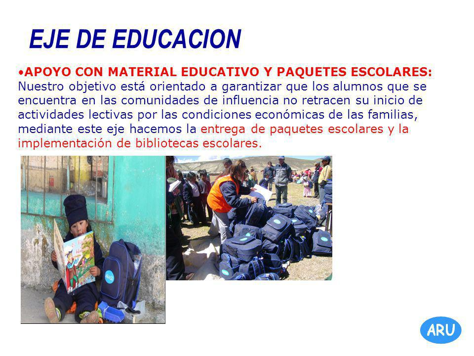 EJE DE EDUCACION