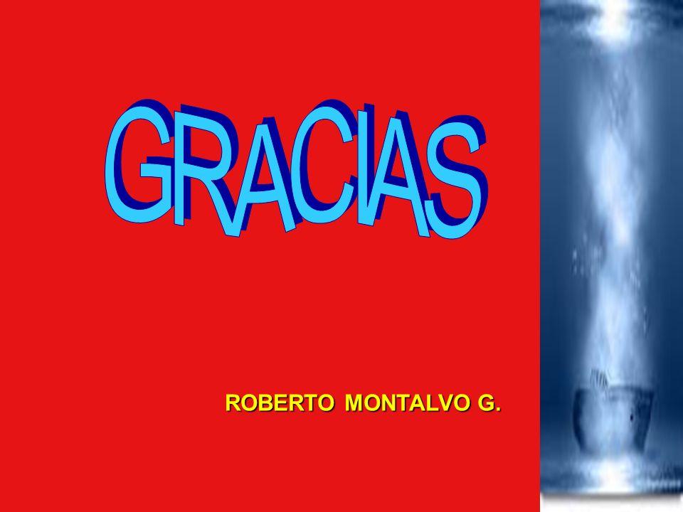 GRACIAS ROBERTO MONTALVO G.