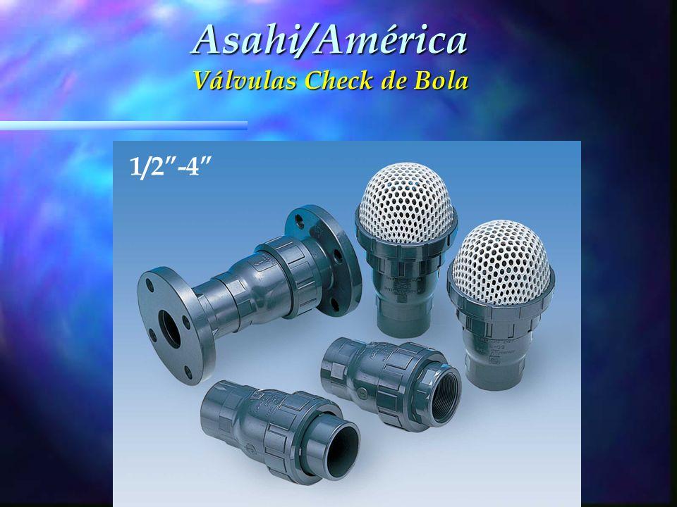 Asahi/América Válvulas Check de Bola