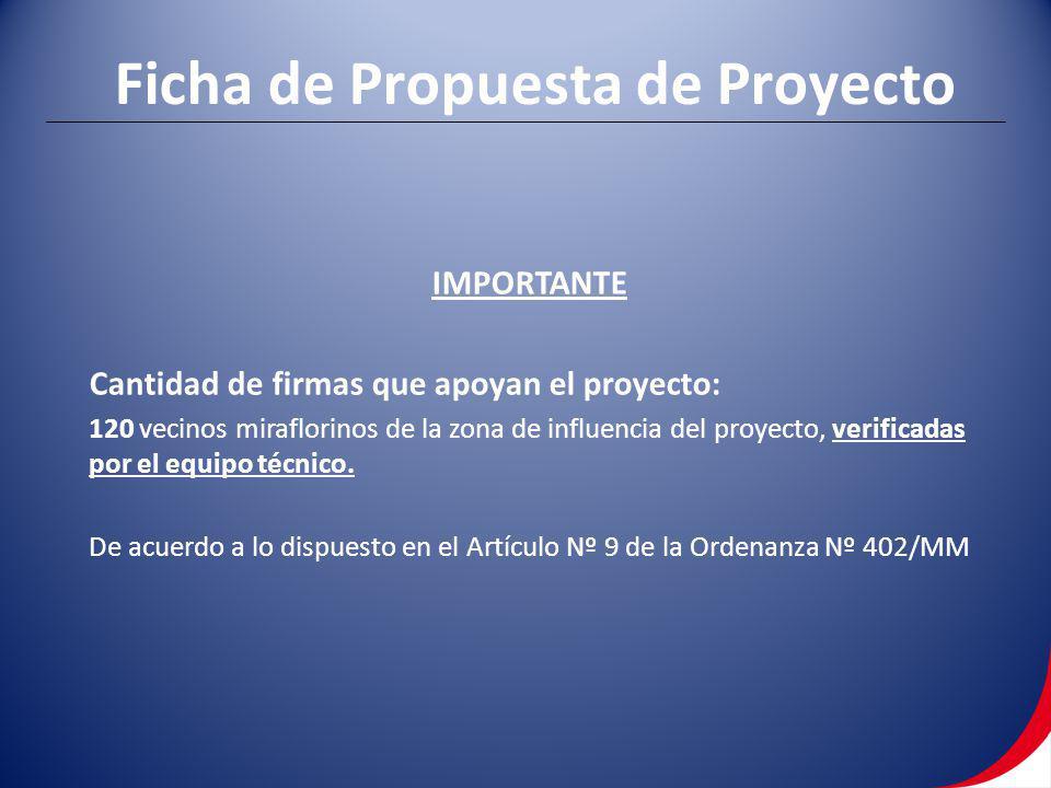 Ficha de Propuesta de Proyecto