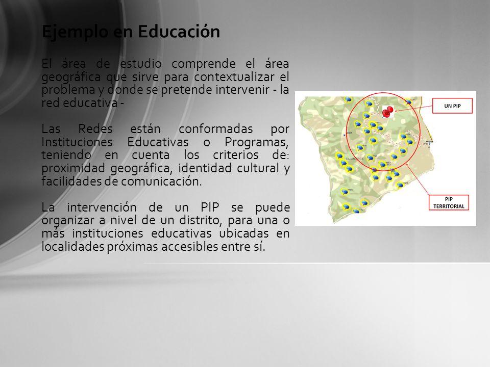 Ejemplo en Educación
