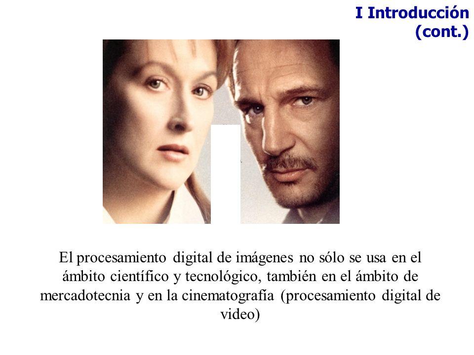 I Introducción (cont.)