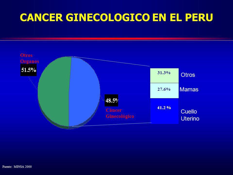 CANCER GINECOLOGICO EN EL PERU