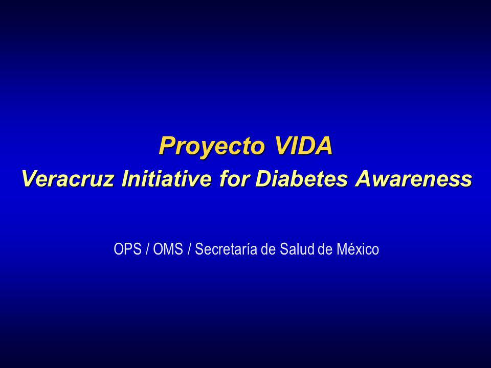 Veracruz Initiative for Diabetes Awareness