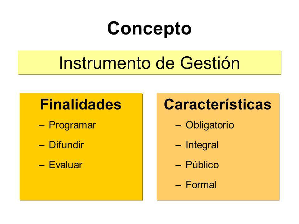 Instrumento de Gestión