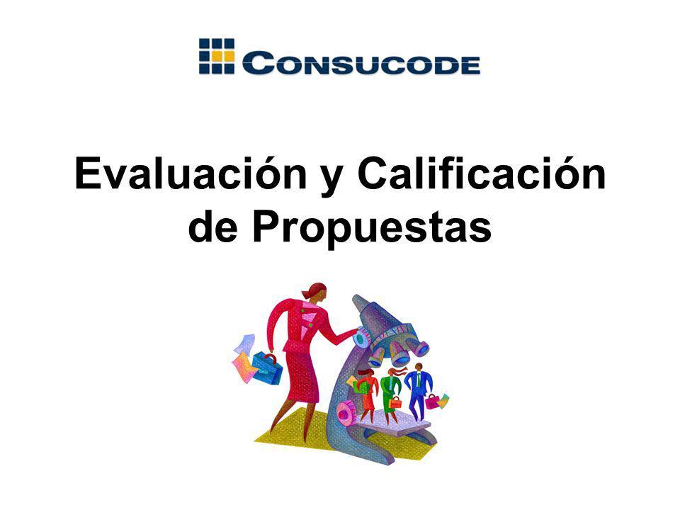 Evaluación y Calificación de Propuestas