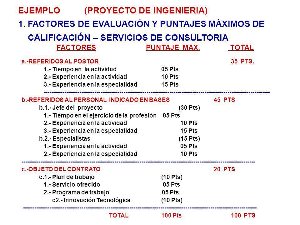 EJEMPLO (PROYECTO DE INGENIERIA)