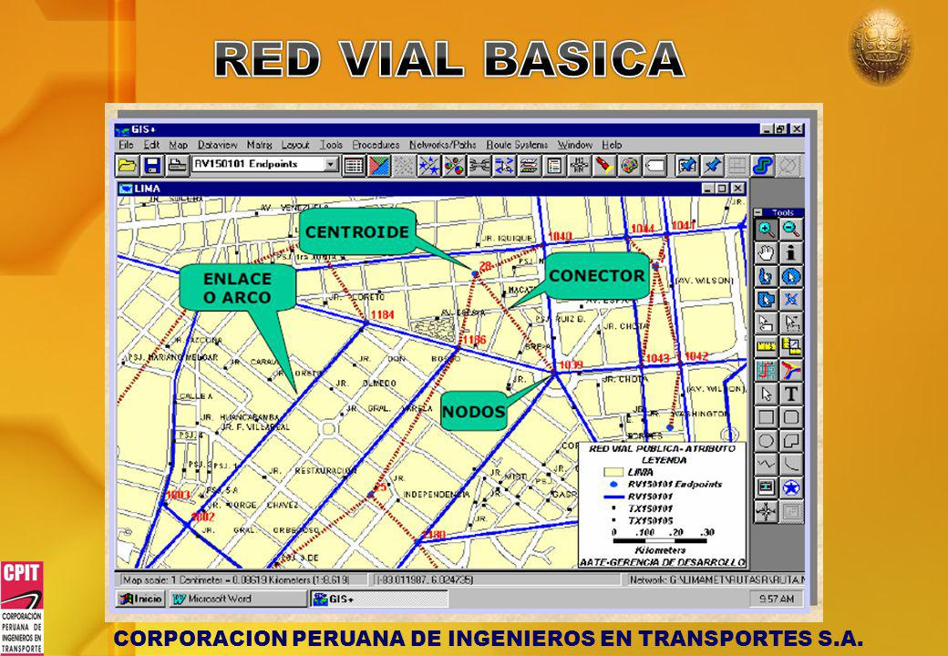 RED VIAL BASICA