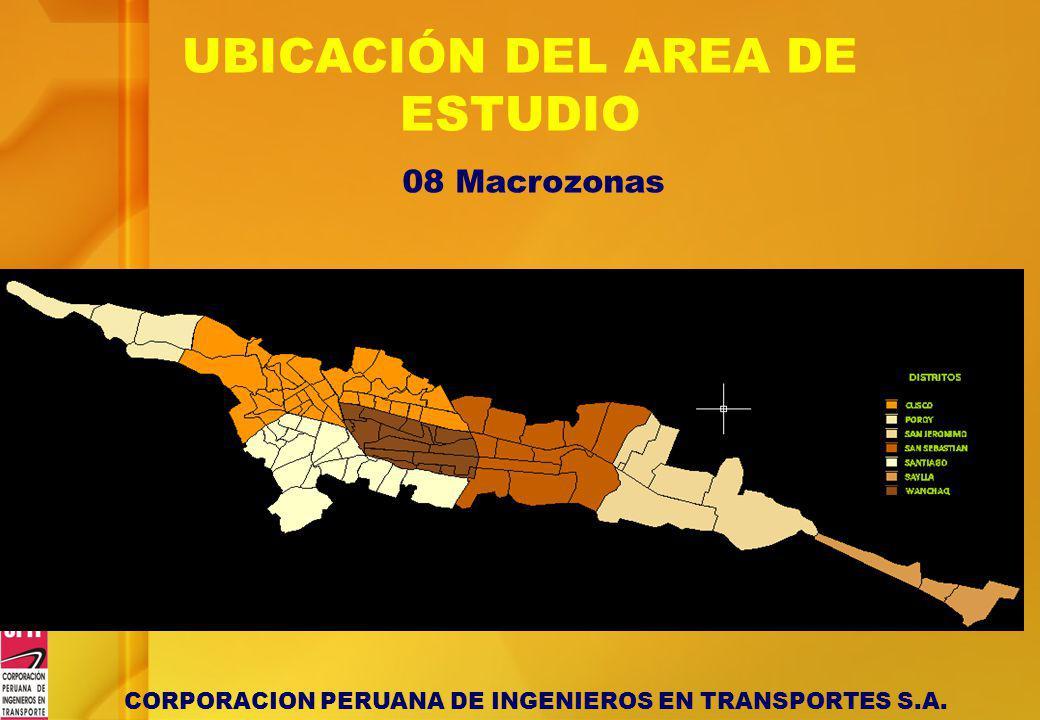 UBICACIÓN DEL AREA DE ESTUDIO