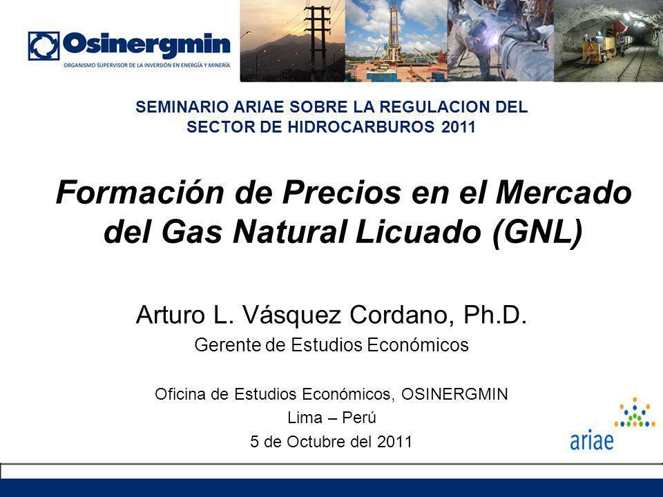 Formación de Precios en el Mercado del Gas Natural Licuado (GNL)