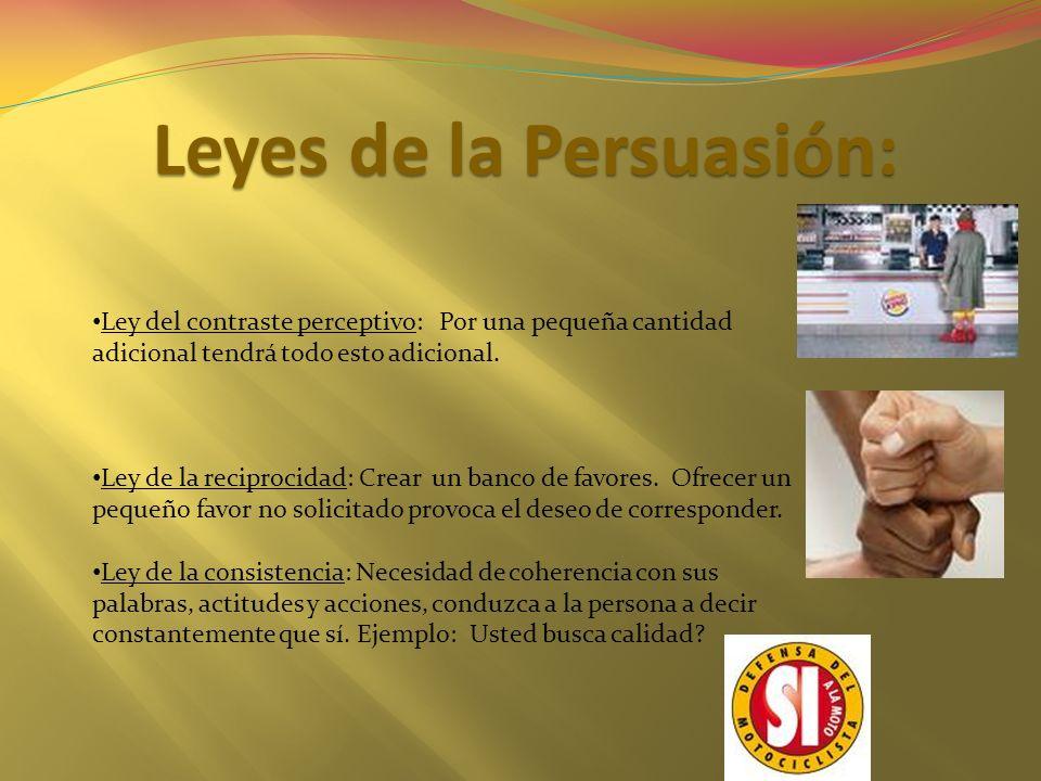 Leyes de la Persuasión: