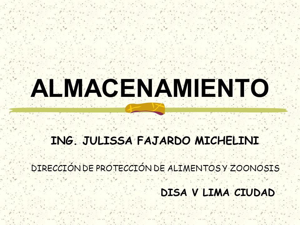 ING. JULISSA FAJARDO MICHELINI