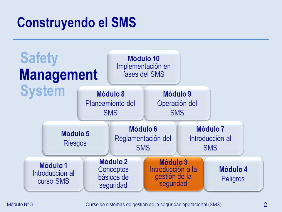 Safety Management System Construyendo el SMS