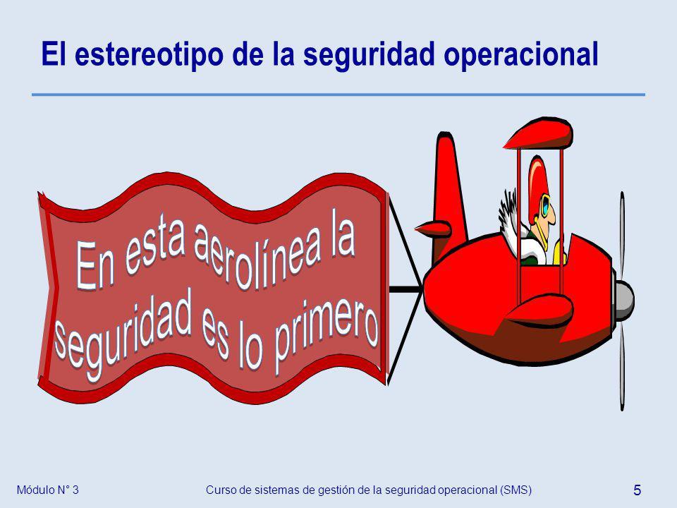 El estereotipo de la seguridad operacional