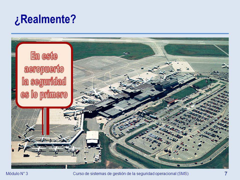 ¿Realmente En este aeropuerto la seguridad es lo primero