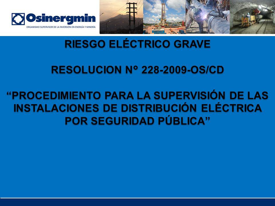 RIESGO ELÉCTRICO GRAVE