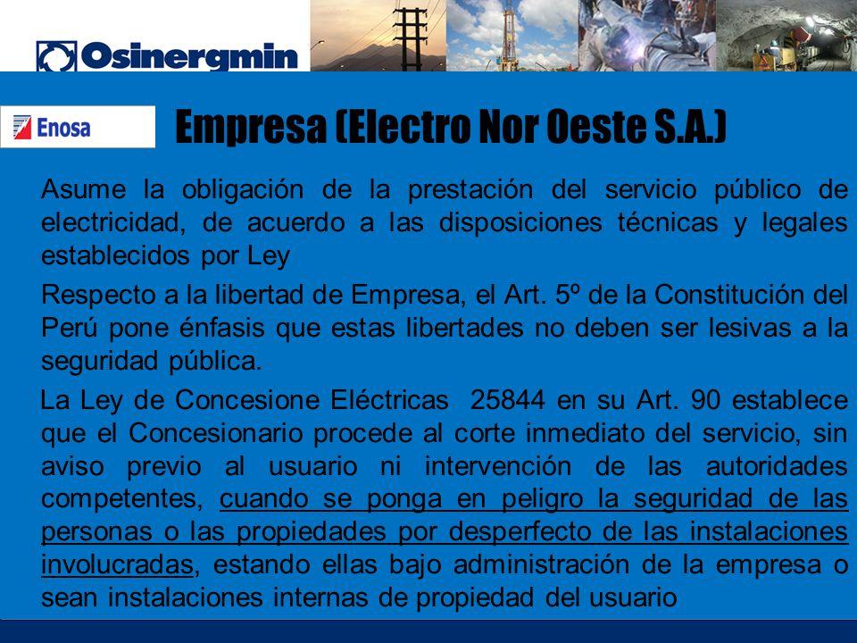 Empresa (Electro Nor Oeste S.A.)