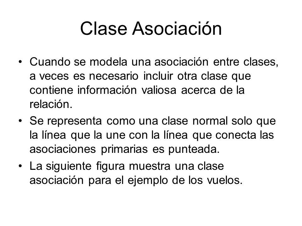 Clase Asociación