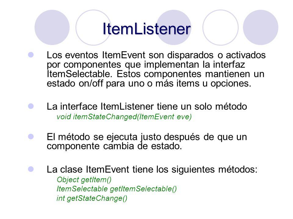 ItemListener
