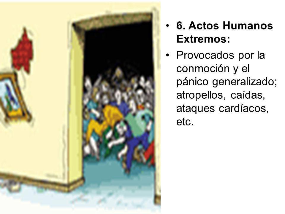 6. Actos Humanos Extremos: