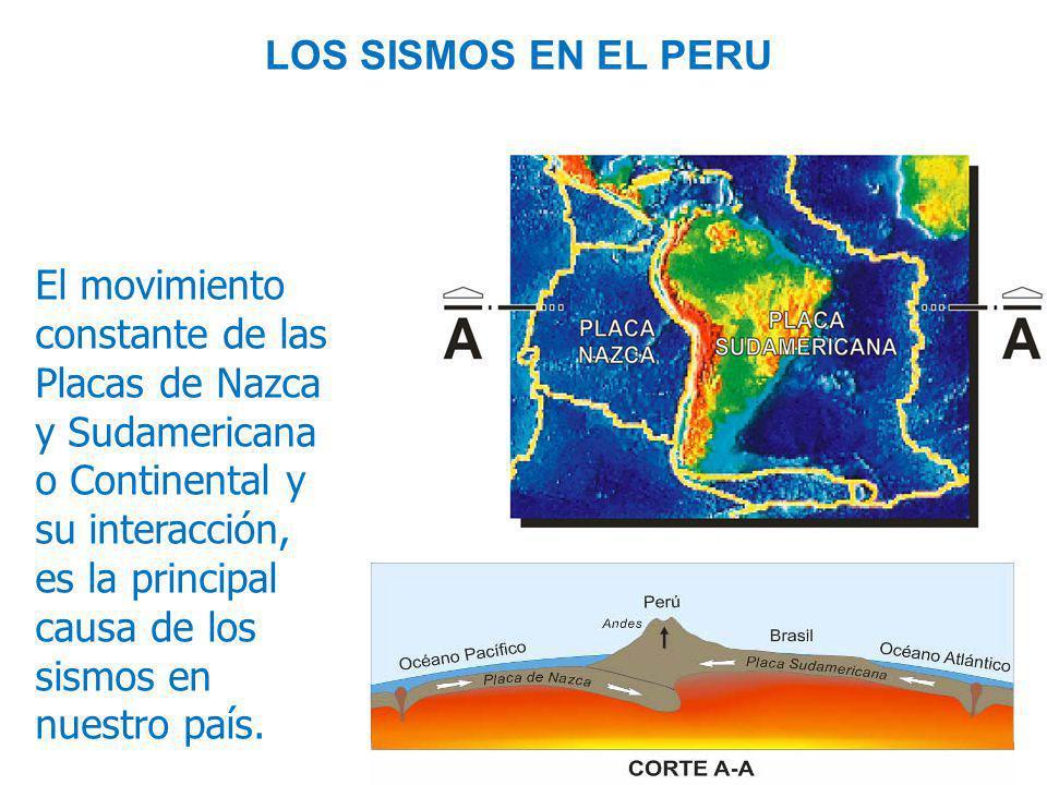 LOS SISMOS EN EL PERU