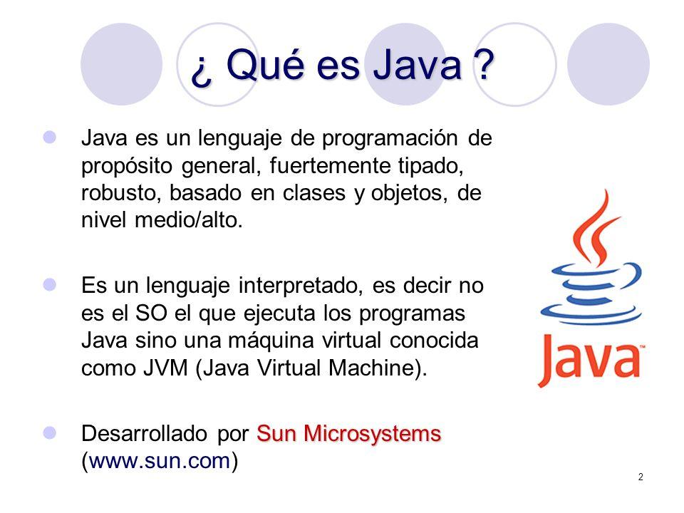 ¿ Qué es Java