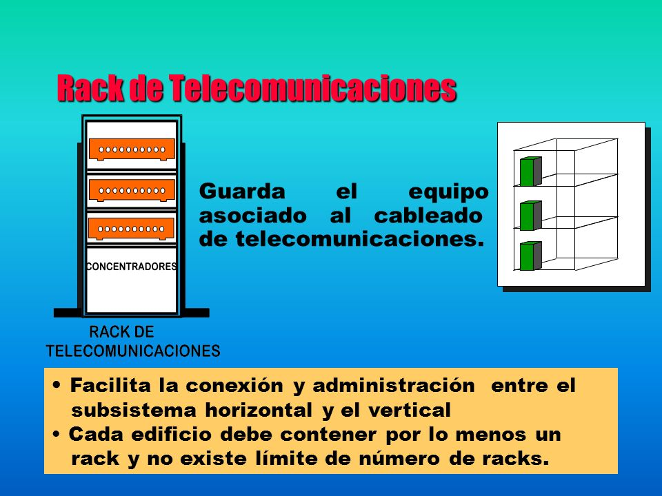 Rack de Telecomunicaciones