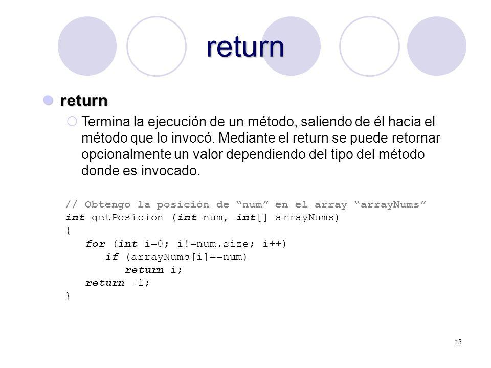 return return.