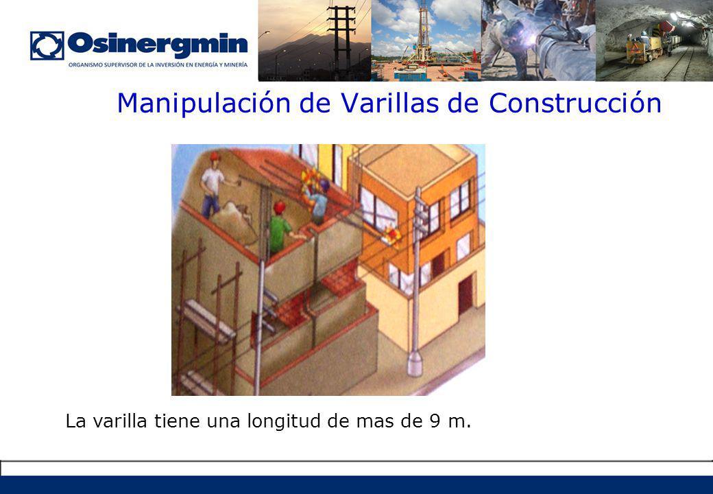 Manipulación de Varillas de Construcción