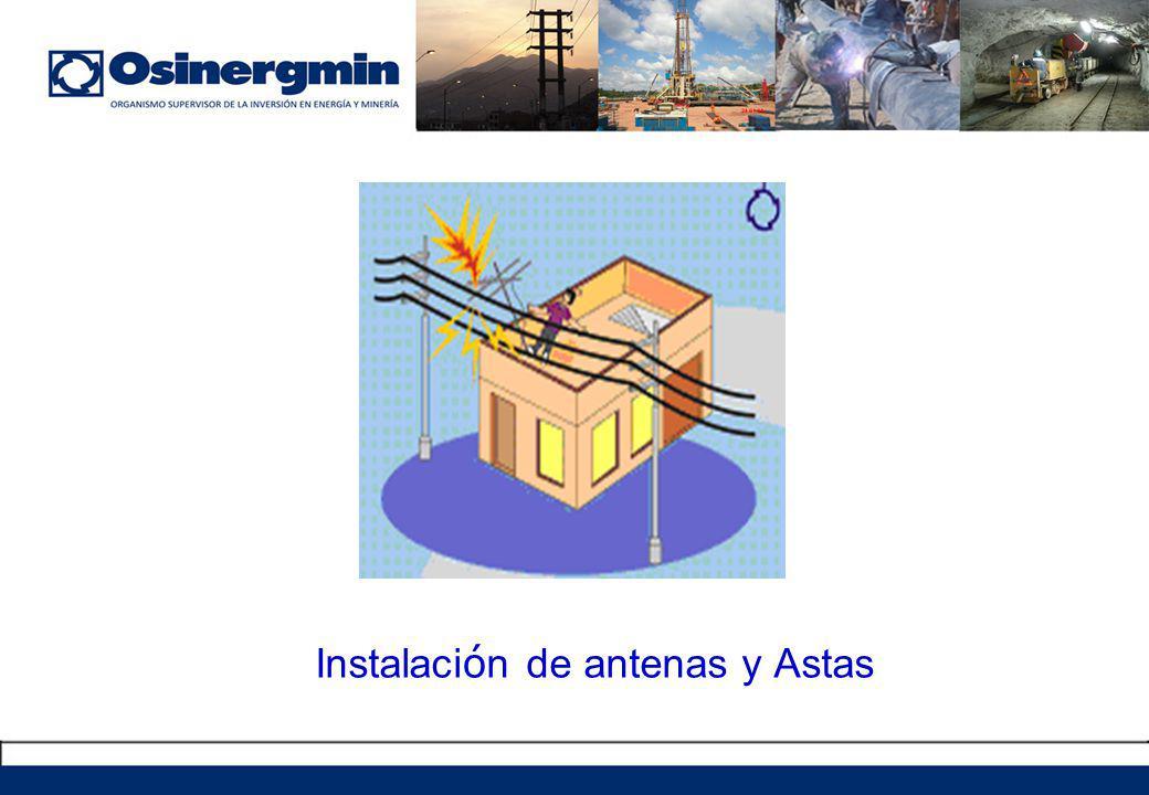 Instalación de antenas y Astas