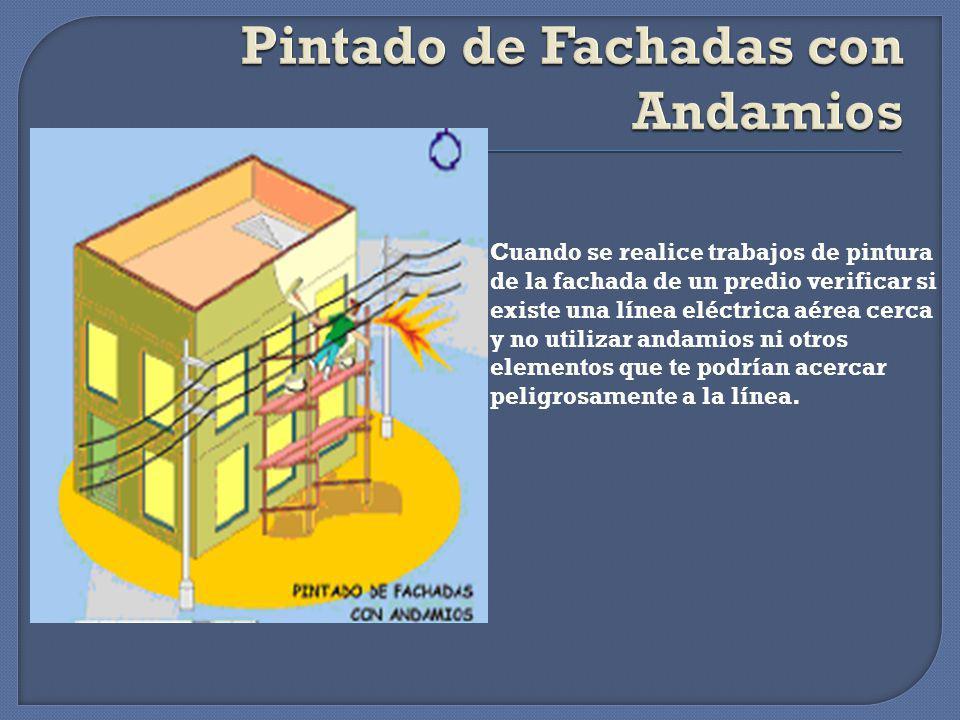 Pintado de Fachadas con Andamios