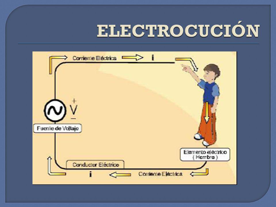 ELECTROCUCIÓN