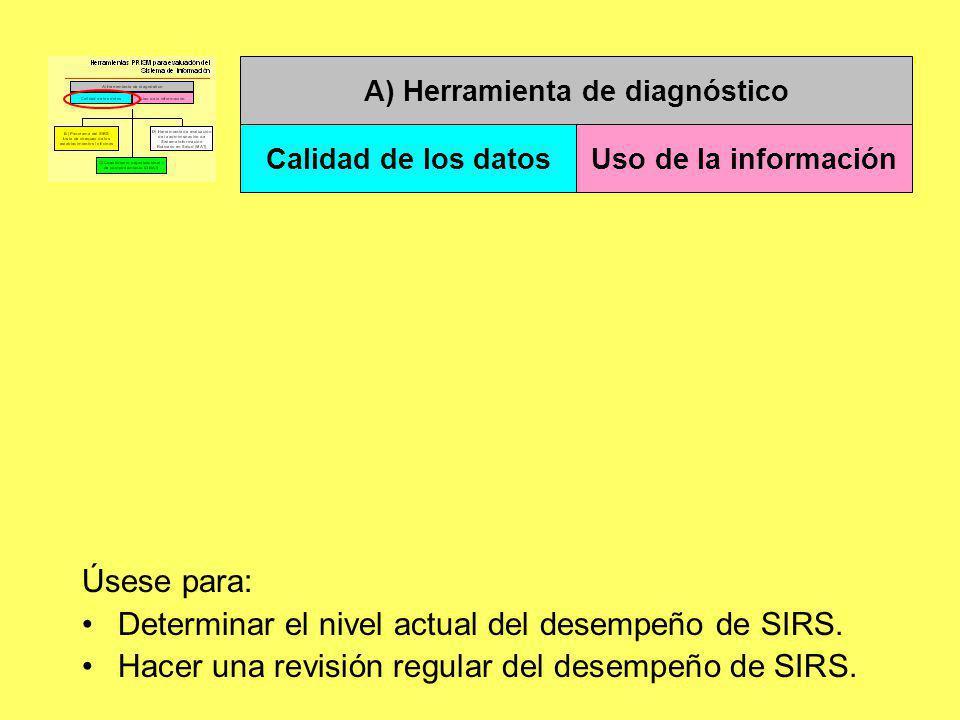 A) Herramienta de diagnóstico