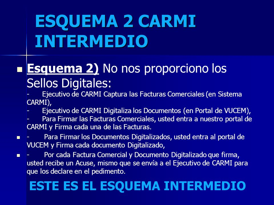 ESQUEMA 2 CARMI INTERMEDIO