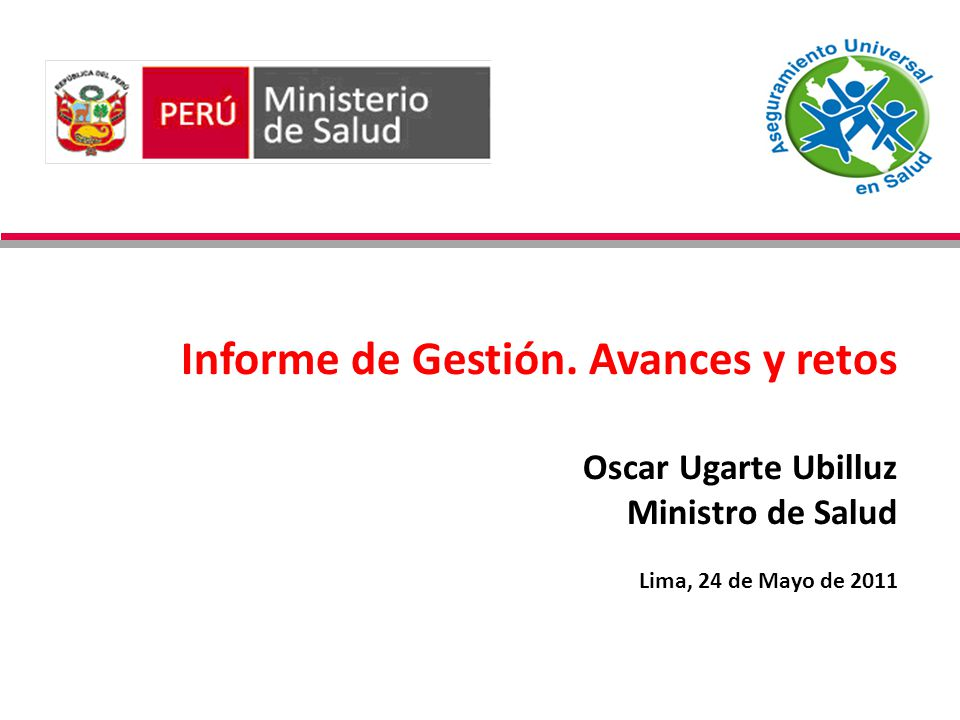 15/11/2010 Informe de Gestión.