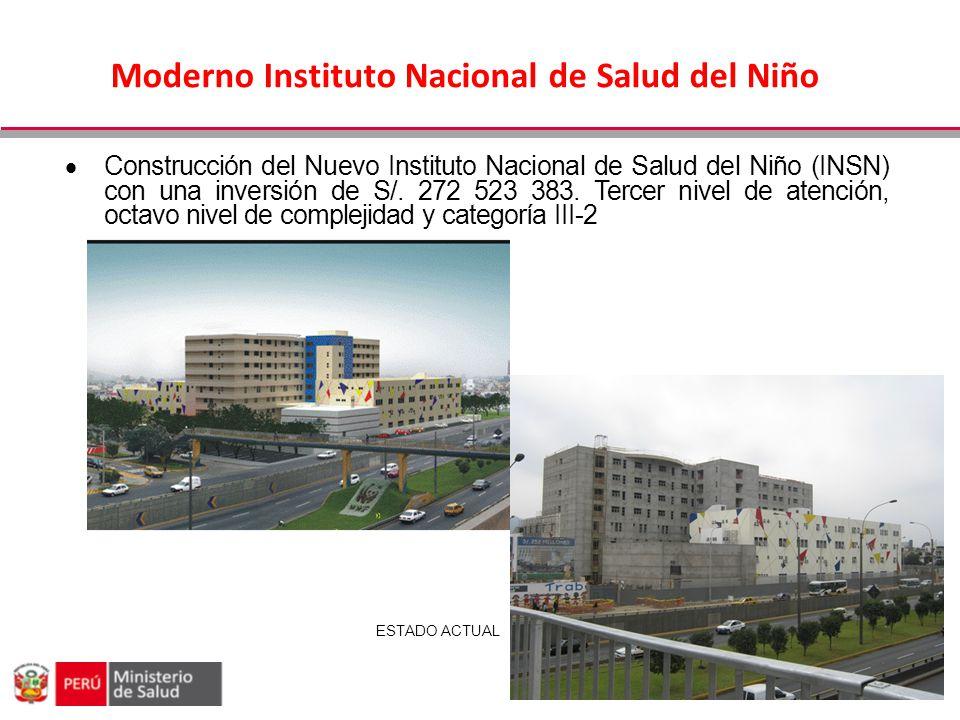 Moderno Instituto Nacional de Salud del Niño