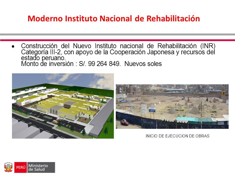 Moderno Instituto Nacional de Rehabilitación