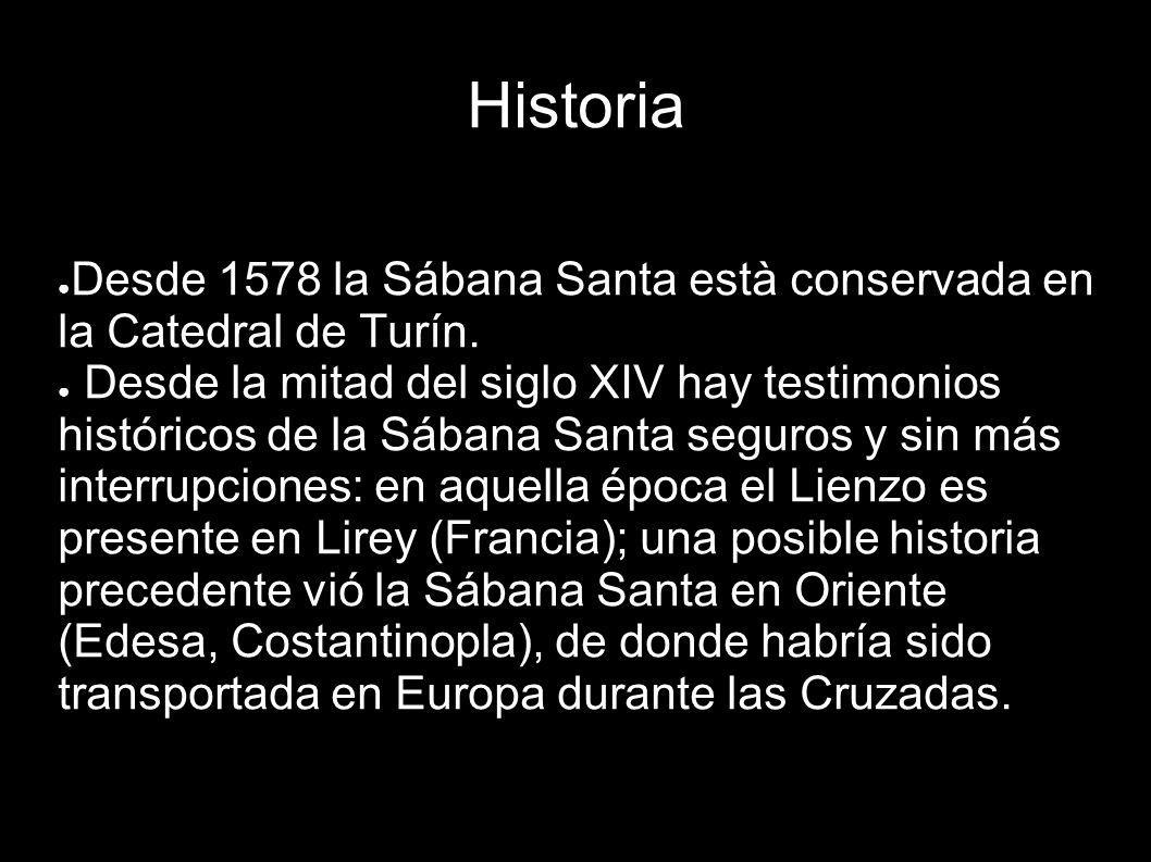 Historia Desde 1578 la Sábana Santa està conservada en la Catedral de Turín.