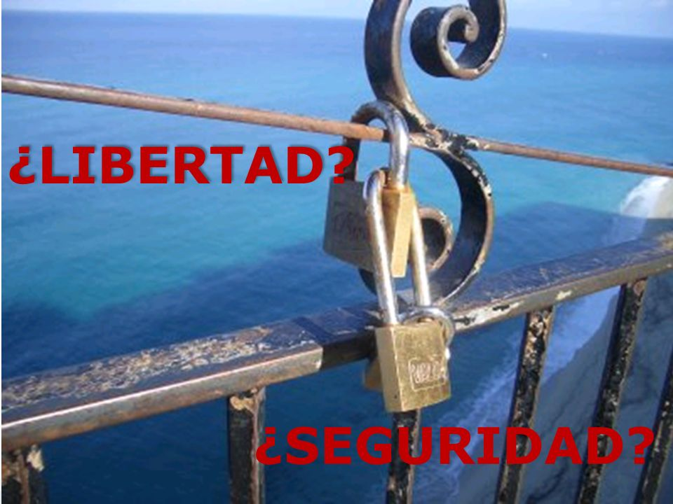 ¿LIBERTAD ¿SEGURIDAD Hot Tip