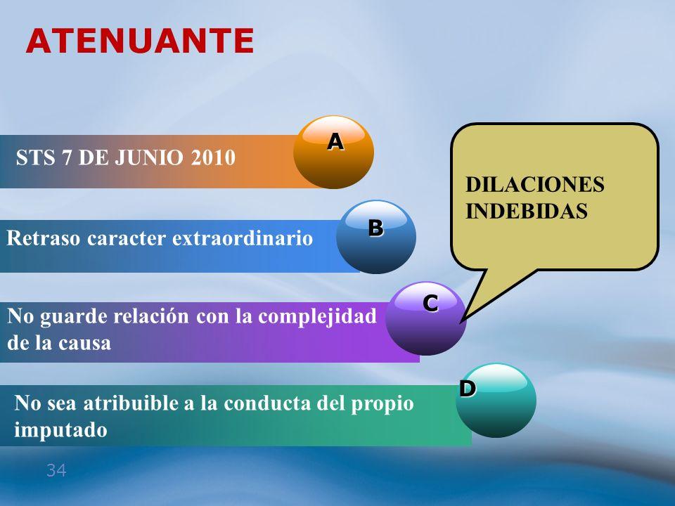 ATENUANTE A STS 7 DE JUNIO 2010 DILACIONES INDEBIDAS B