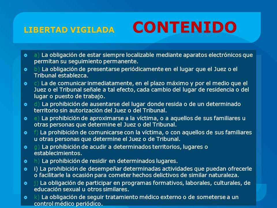 LIBERTAD VIGILADA CONTENIDO