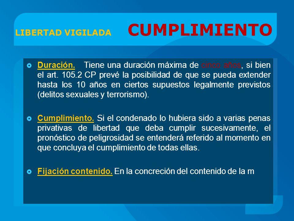 LIBERTAD VIGILADA CUMPLIMIENTO
