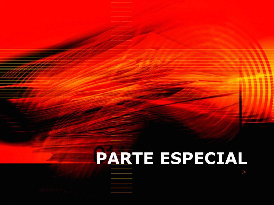 PARTE ESPECIAL >