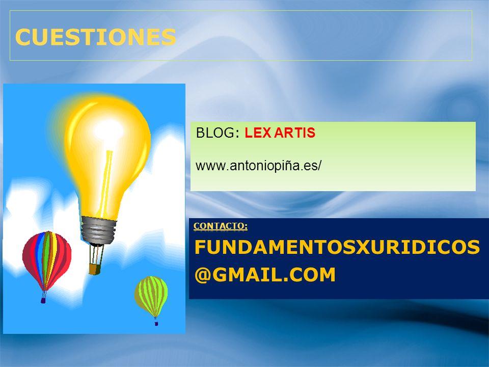 CONTACTO: FUNDAMENTOSXURIDICOS @GMAIL.COM