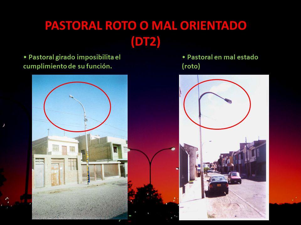 PASTORAL ROTO O MAL ORIENTADO (DT2)