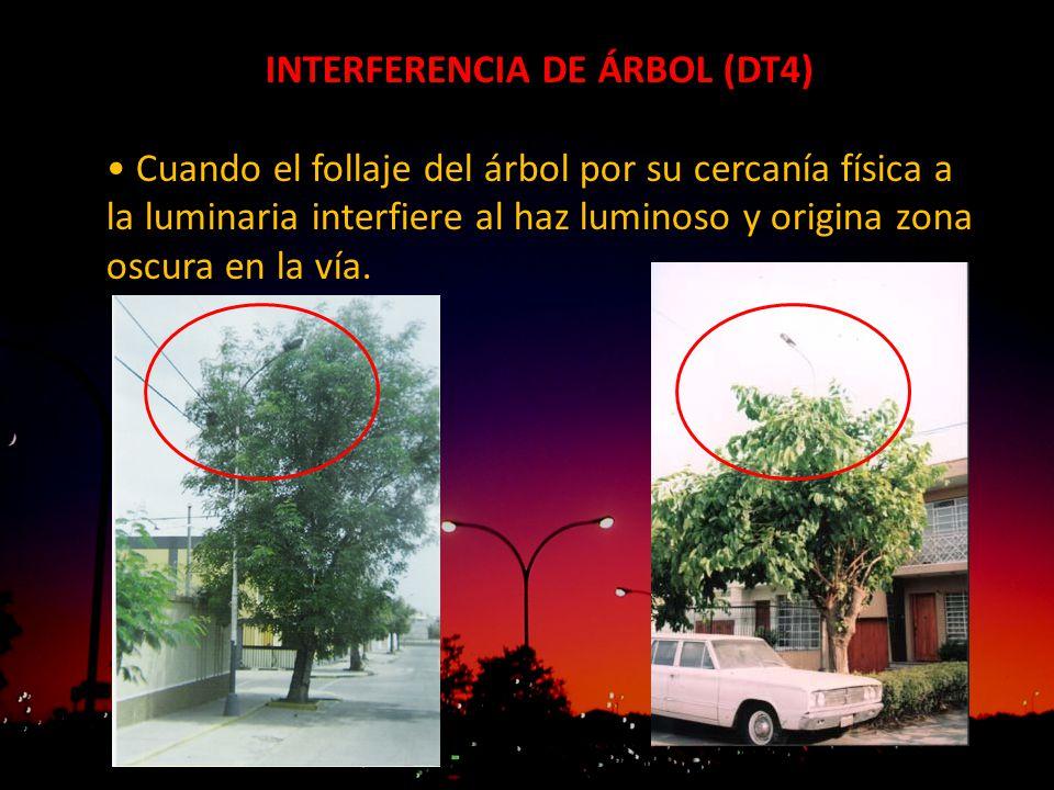 INTERFERENCIA DE ÁRBOL (DT4)